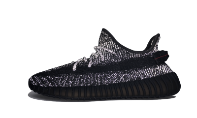 Yeezy Boost 350 V2 'Black' (Reflective)
