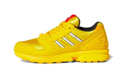 adidas ZX 8000 x Lego Yellow