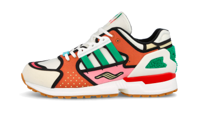 Adidas ZX 10000 Simpsons Krusty Burger
