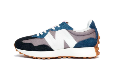 New Balance 327 Grey Navy Black